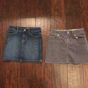 Girls skirt lot